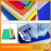 Folha de acrílico colorido a folha de acrílico de plástico para sinalização de carta de Publicidade
