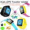 3G GPS van jonge geitjes de Telefoon van het Horloge van de Drijver met Multifunctioneel (D18)