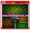 El laser que centellea efectúa la luz para el disco