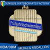 La vendita calda progetta la medaglia per il cliente dell'oggetto d'antiquariato del metallo dei campioni liberi