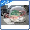 Menschlicher Schnee-Kugel-Foto-Stand, aufblasbare Weihnachtsdekoration-Schnee-Kugel für für das Bekanntmachen