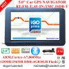 Hot 5.0 coche navegación GPS con WINCE 6.0 Sistema de navegación GPS, transmisor de FM, AV-in para el estacionamiento cámara,Bluetooth GPS Navigator Sat Nav, seguimiento Mapa GPS TMC,