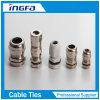 IP68 imperméabilisent le type presse-étoupe de câble nickelé en laiton normal en métal