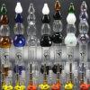 티타늄 못을%s 가진 7개의 색깔 감로 수집가 14mm/18mm 유리 관