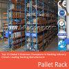 Système sélecteur de défilement ligne par ligne de palette de crémaillère de palette pour la mémoire d'entrepôt