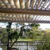 Imperméable Pergola tente d'obturation de toit motorisé