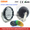 Het hoge Offroad LEIDENE van de Output 9inch Bestand Werk Lichte 12V/24V EMC