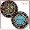 Kundenspezifische Decklack-Metallandenken-Münze der Förderung-3D weiche