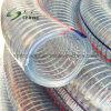 Espiral de PVC transparente flexible Manguera reforzada con alambre de acero