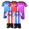 Тайвань футбол футболках Nikeid Футболка оптовых Custom Sublimated футбол спецодежды для групп
