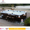 Garden Jacuzzi van de Big SPA Pool van de Ton de Hete met TV