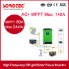 4kVA 5kVA alta frecuencia de onda senoidal pura Inversor de potencia solar híbrido para el hogar