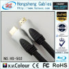 Кабель наградного кабеля HDMI высокоскоростного прозрачный тональнозвуковой