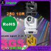 280W 10r Stadiums-Beleuchtung-bewegliches Hauptpunkt-Wäsche-Träger-Licht
