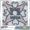Azulejo de mosaico rebanado piedra natural plana del guijarro