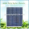 60W auswechselbarer energiesparender Sunpower Haustier-PolySonnenkollektor