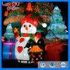 Lanterna di seta chiara del pupazzo di neve della decorazione della sosta di Chirstmas