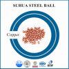 Bola de metal redonda de la bola de cobre pura de la buena calidad 5m m