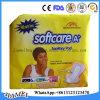 Garnitures sanitaires de coton de Softcare pour le pays de Burkina Faso