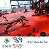Binnen Rood Broodje 4.5mm van het Patroon van de Gem van de Vloer van de Sporten van de Gymnastiek Vinyl