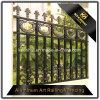 Privacidade decorativa que cerc a cerca de alumínio do jardim da casa de campo dos painéis