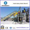 Pressa-affastellatrice idraulica automatica della carta straccia di Hellobaler con il trasportatore