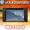 폭스바겐 Passat B5/Bora/Polo/Gulf 4 W2-D9230V를 위한 GPS를 가진 Witson 차 DVD 플레이어