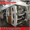 Six couleurs Impression flexo UV Machine/Machine/Flex d'impression d'impression