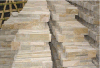 スレートの棚の石のベニヤの壁のタイル