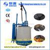 Fogão da carbonização do carvão vegetal do escudo do coco para o carvão amassado da serragem