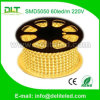 고전압 220V LED Strip SMD5050 60LEDs/M Strip Light 3000LEDs