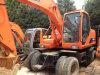 Excavatrice utilisée de roue de Daewoo Dh150W d'excavatrice de Daewoo