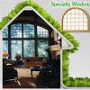 Gute vollständige Ansicht für Ihren Studien-Raum, spätestes modernes Spezialgebiets-Aluminiumfenster für Ihr Haus durch China-Lieferanten