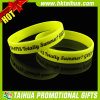 Bracelets faits sur commande de silicones pour estampé (TH-band059)