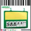 Étiquette 6 Digital d'étalage de bâti des prix de promotion de la taille A4