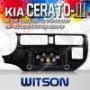Lecteur DVD GPS de Witson Special Car pour le forte KIA K3 (W2-C204) de KIA K3 Rio 2012 KIA