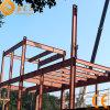 Almacén prefabricado de la estructura de acero con el entresuelo (SS-14714)