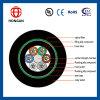 108 Core GYTY53 Cable de fibra óptica con la capa de blindados