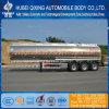 Semirimorchio dell'autocisterna del combustibile della lega di alluminio 46cbm