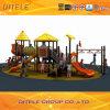 Serie soleada ciudad de los niños al aire libre Zona de juegos