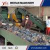 Lavado de residuos de plástico de Cine de producción de la máquina línea de reciclaje