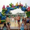 Ícone arqueados porta para o Parque Aquático Aqua equipamento de jogos