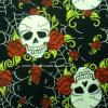 綿かSpandex Printed Stretch Satin (Art#UC702383-5)