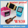 W838 Waterproof Watch Mobile Phone