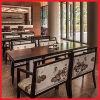 최신 디자인 목제 중국 대중음식점 팔 의자 테이블 가구