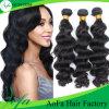 Venda por atacado de alta qualidade corpo onda remy cabelo extensão do cabelo humano