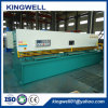 A nova norma europeia máquina de corte de chapas metálicas Hidráulico (QC12Y-4X4000)
