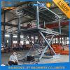 Levage vertical de véhicule de pile de ciseaux mobiles hydrauliques avec du ce