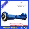 Scooter électrique motorisé par équilibre bleu en gros d'individu de Chargable avec Bluetooth
