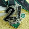 2017上の販売のリボンが付いている柔らかいエナメル21kmの習慣のマラソンの実行のフィニッシャーメダル